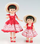 Click to view larger image of Vogue Garden Party Sister Vintage Repro Ginny Doll 2011 (Image2)