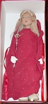 Click here to enlarge image and see more about item ZWE0002: Zwergnase 2001 Swinda, Holiday Doll