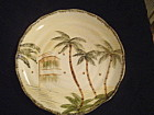 Mulberry Palm Trees Dinner Plates