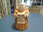 Treasure Craft Monk Ceramic Cookie Jar