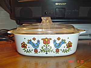 Corning Ware Friendship 2 Quart Covered Casserole