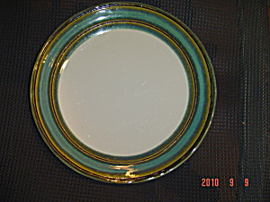 Sango Waves Green Dinner Plates