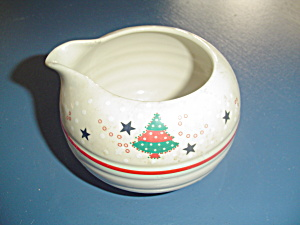Noritake Epoch Holiday Joy Creamer
