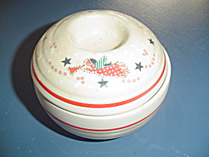 Noritake Epoch Holiday Joy Covered Sugar Bowl