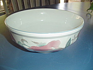Mikasa Silk Flowers Serving Bowl