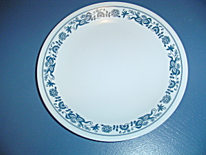 Corelle Old Towne Blue Lunch Plates