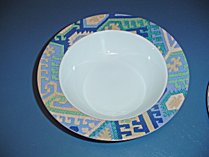 Mikasa California Karastad Rimmed Serving Bowl