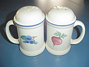 Pfaltzgraff Summer Garden Handled Stove Top Shakers