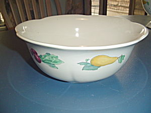 Pfaltzgraff Summer Scalloped Rim Serving Bowl