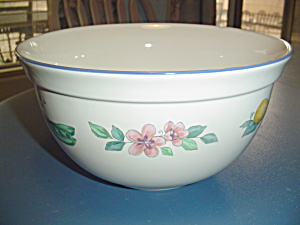 Pfaltzgraff Summer Garden Large Salad, Serving, Mixing Bowl