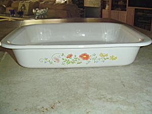 Vintage Corning Ware Wildflowers Lasagna Pan (Image1)