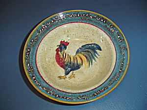 Noble Excellence Rooster Cafe Cereal/soup Bowls