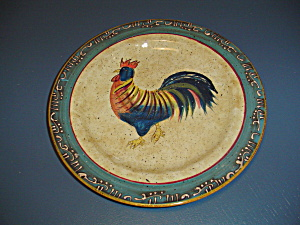Noble Excellance Rooster Cafe Dinner Plates