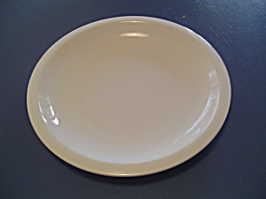 Pottery Barn Du Jour White Dinner Plates