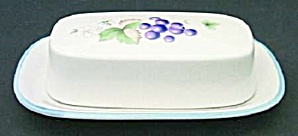 Savoir Vivre Luscious Covered Butter Dish