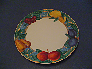 Victoria Beale Forbidden Fruit Dinner Plate