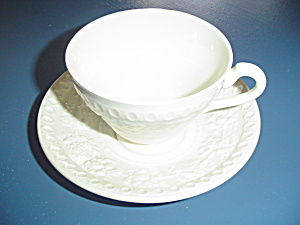 Wedgwood Wellesley Cups And Saucers