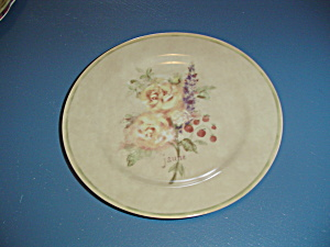 222 Fifth Rose Bouquets Salad Plates