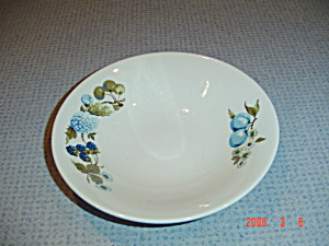 Iroquois Blue Vineyard Soup Bowls