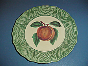 Noble Excellence Apple Vintage Wicker Dinner Plates (Image1)