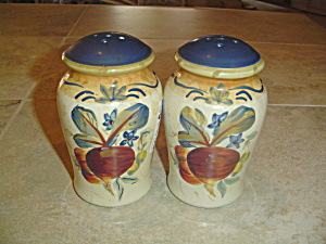 Certified International Tall Large Stove Top Shakers