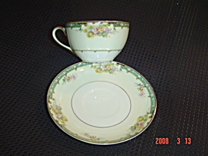 Noritake M Estelle Cups And Saucers