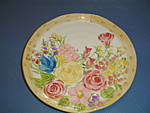 Tablestops Floral Basket Dinner Plates