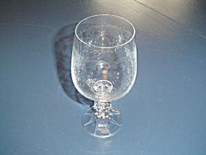 Import Associates Cascade Water Goblet(S)