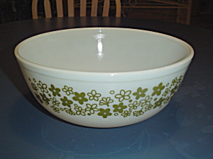 Pyrex Crazy Daisy 4 Quart Stacking Mixing Bowl
