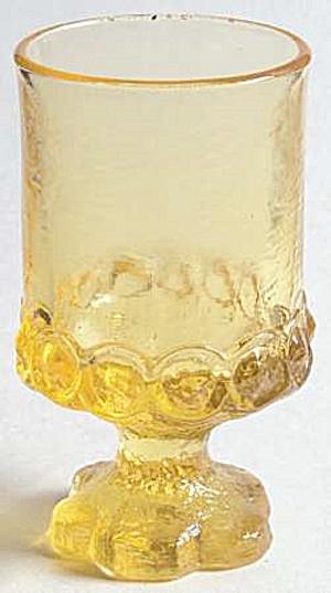 Franciscan Cornsilk Madeira Wine Goblets (Image1)