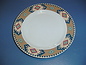 Eddie Bauer Home Dinner Plates Aztec/sw Design