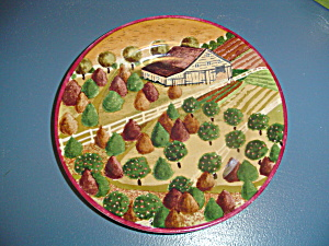 Block Country Village By Gear Salad Plate Style 1