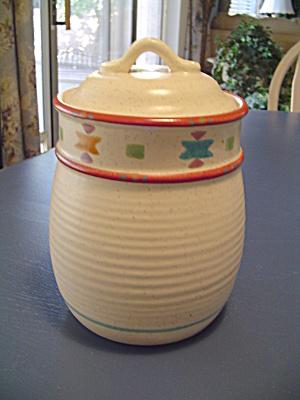 Treasure Craft Saratoga Covered Sugar Canister  (Image1)