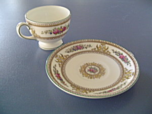 Wedgwood Columbia Cups And Saucers