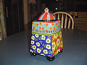 Cic Joyce Shelton Studios Unusual Cookie Jar