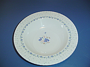 Mikasa Forget-Me-Not Rimmed Serving Bowl (Image1)