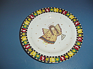 Sakura Debbie Mumm Gathering Of Angels Salad Plate Style 2