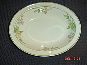 Wedgwood Wild Apple Oval Serving Bowls