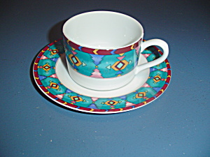 American Atelier Timberlane Cups And Saucers