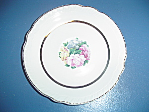 American Limoges Janis Bread And Butter Plates
