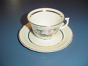 American Limoges Janis Cups And Saucers