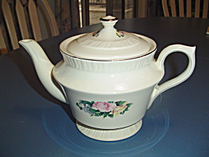 American Limoges Janis Covered Tea Pot