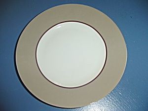222 Fifth Symphony Taupe Salad Plates