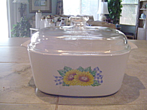 Corning Ware Sunsations 5 Liter Covered Casserole