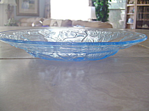 Arcoroc/luminarc Lt Blue Salad Bowls/plates Apple/fruit Pattern