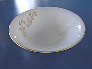 Federal Glass Meadow Gold Serving Bowl