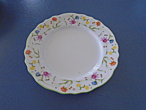 Denby Tea Party Bread And Butter Plates Made In Portugal