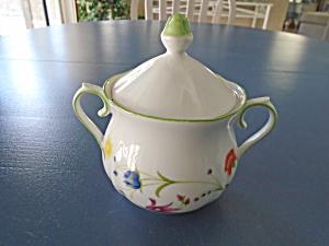 Denby Tea Party Covered Sugar Bowl Vintage (Image1)