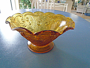 Indiana Glass Tiara Sandwich Glass Console Bowl