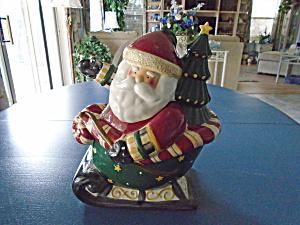 Debbie Mumm Sakura Santa Claus Cookie Jar  (Image1)